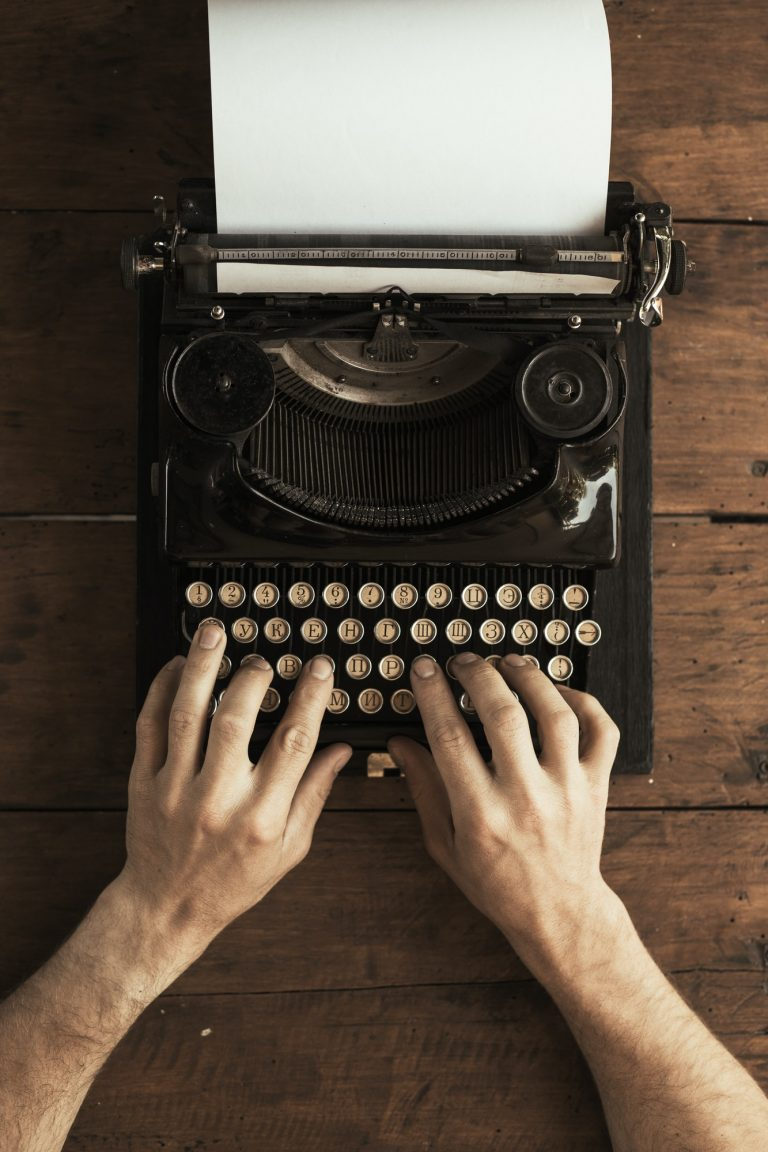 Antique vintage typewriter