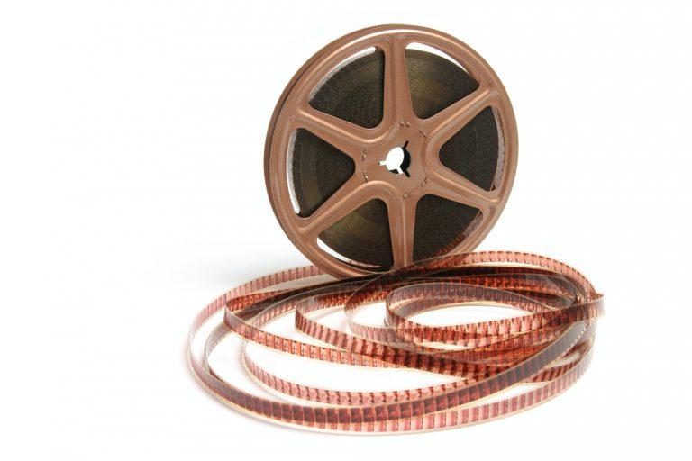Movie Film Reel 8mm film to digital