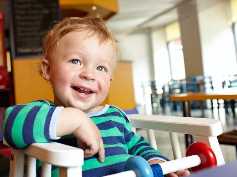 Child in restaurant Home Video Tape