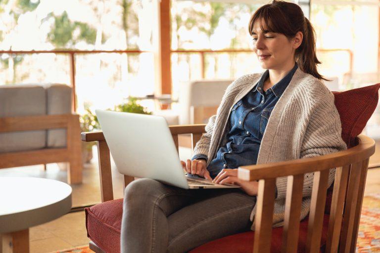 Watchin Conversions on laptop