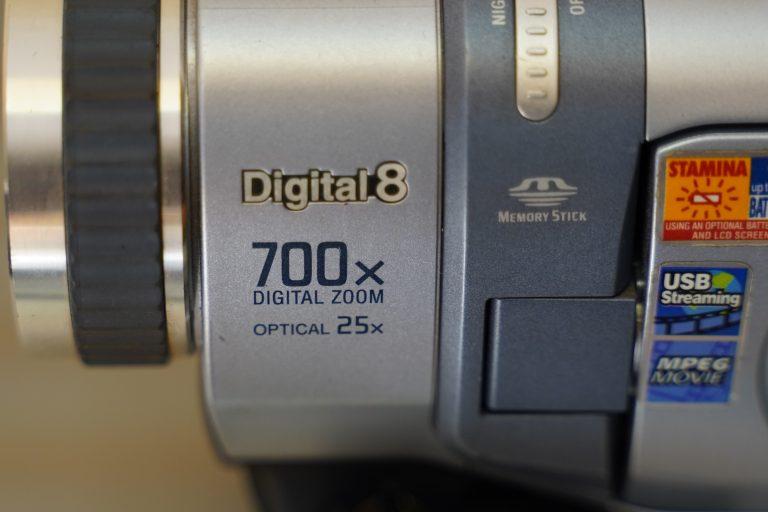 Digital 8 deck from side