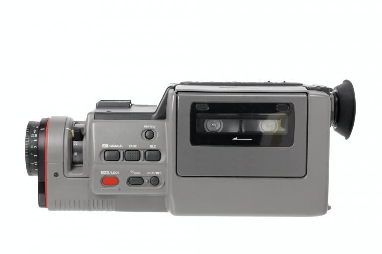 Old Tape Video Camera
